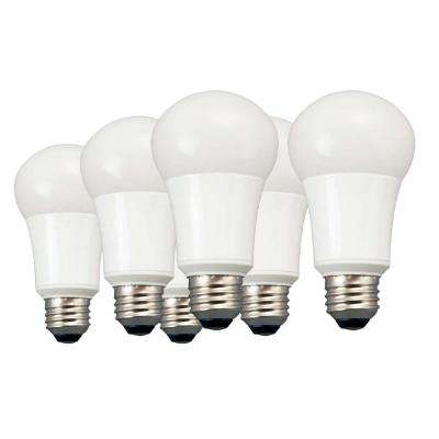 60W Equivalent Daylight A19 Non Dimmable LED Light Bulb (6-Pack)
