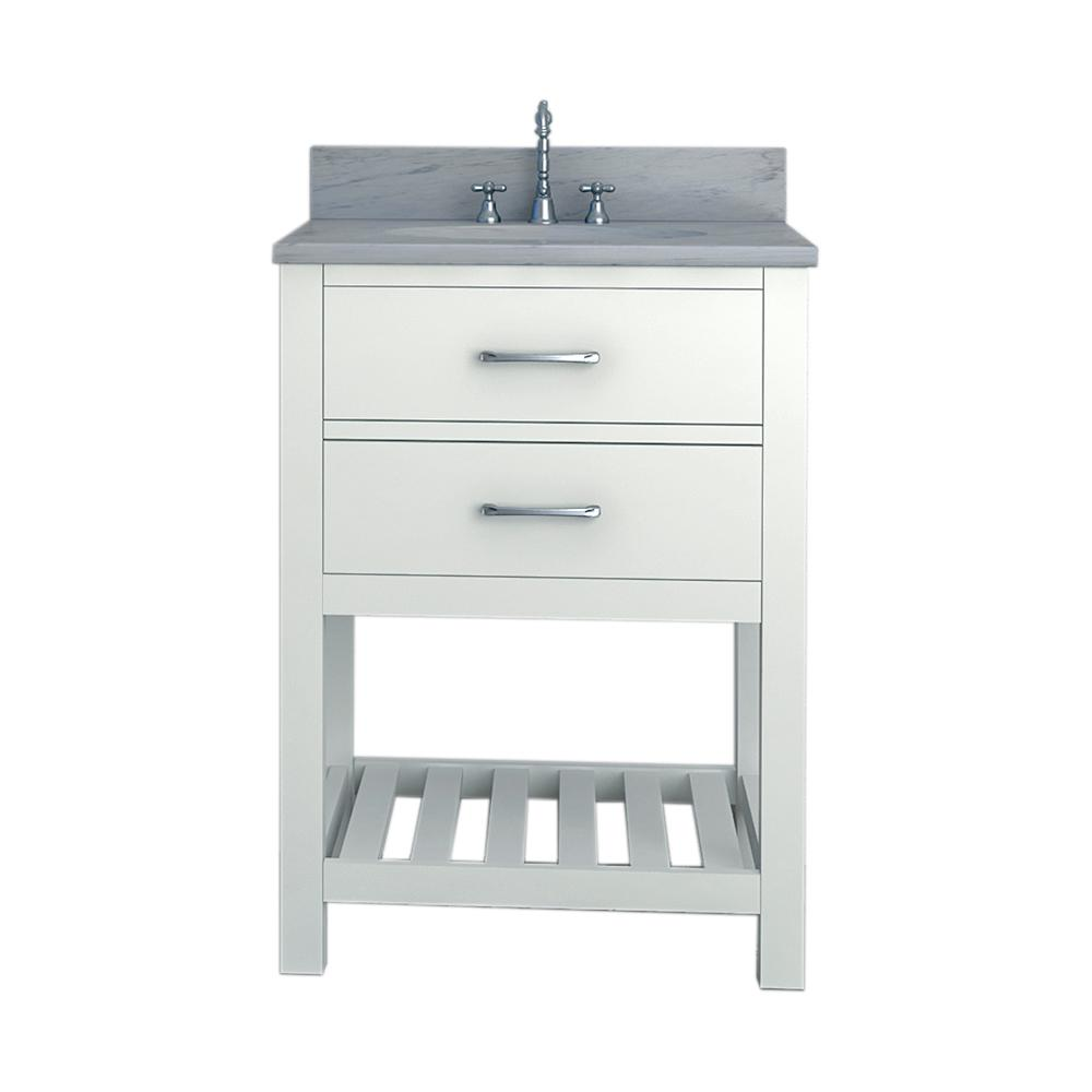 Unbranded Rochester 25 in. W x 34 in. H Bath Vanity in ...