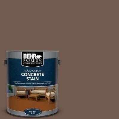 1 gal. #PFC-35 Rich Brown Solid Color Flat Interior/Exterior Concrete Stain