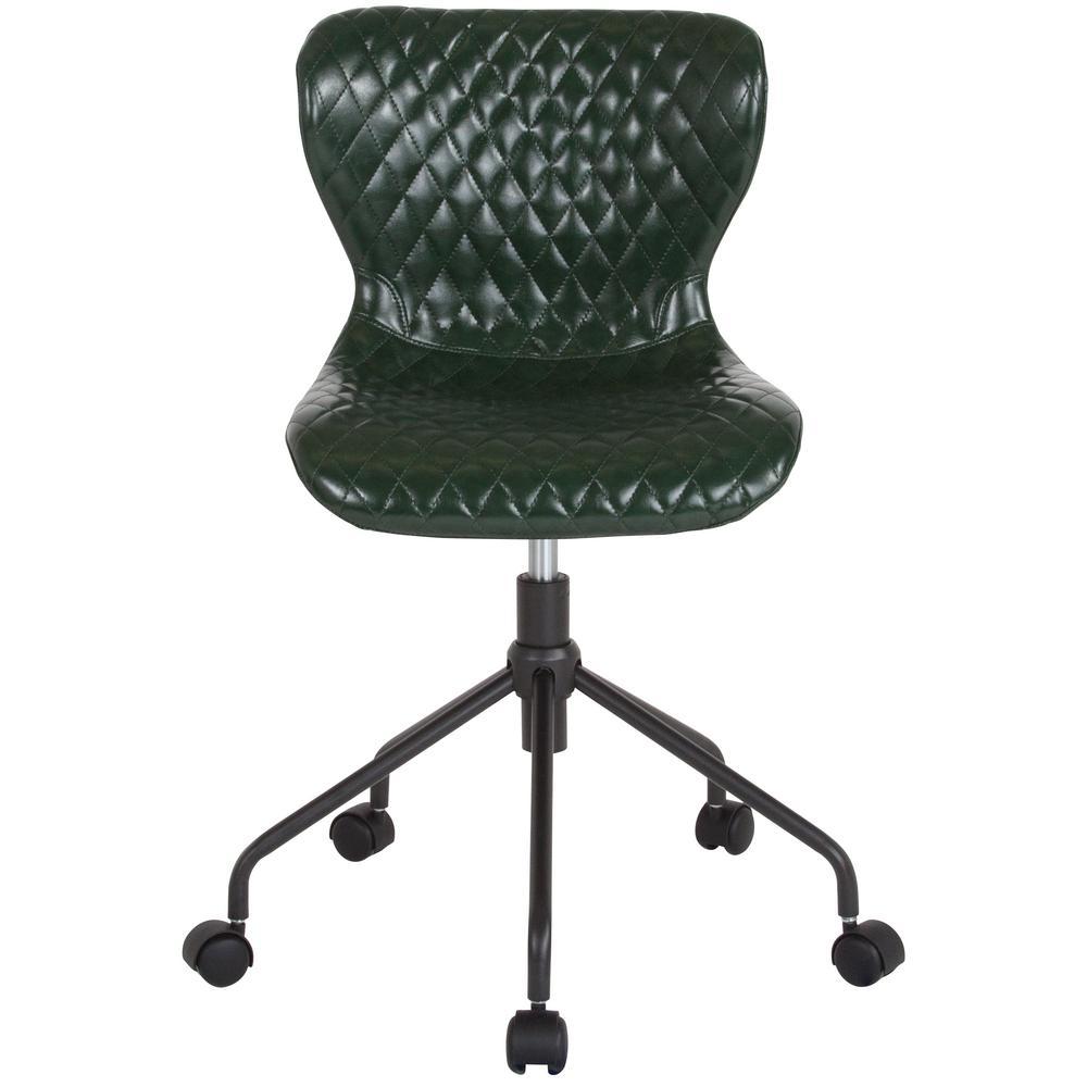 Flash Furniture Green Vinyl Office/Desk Chair CGA-LF-232260-GR-HD
