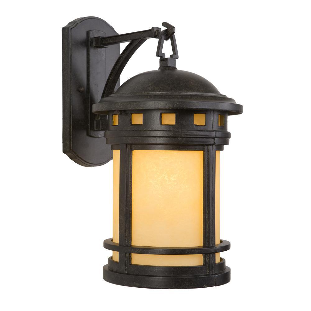 Sahara Collection 1-Light Desert Night Outdoor Wall-Mount Lamp