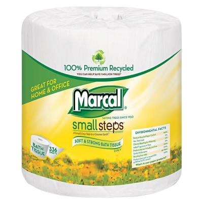 100% Recycled 4.3 in. x 3.66 in. Bath Tissue 2-Ply (48-Rolls)