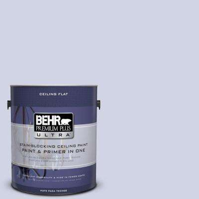 1 gal. No.UL240-11 Ceiling Tinted to Hint Of Violet Flat Interior Paint and Primer in One