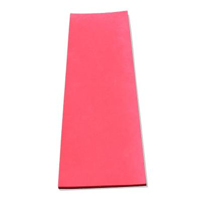 Flat Pole Padding Sheet in Red