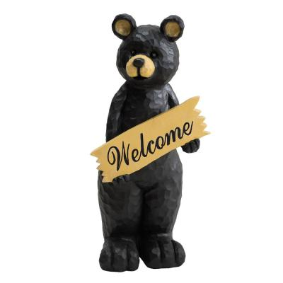 Blake Decorative Bear Garden Decor Statue