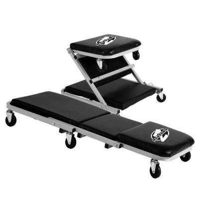 Z Creeper 2-in-1 Creeper and Seat 36 in. with 6 Casters and 300 lbs. Capacity