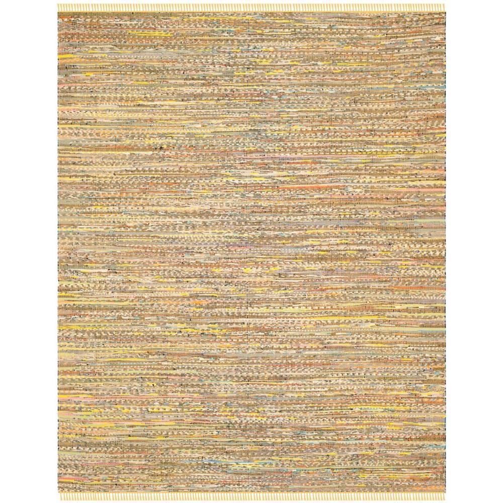 Safavieh Rag Rug Yellow/Multi 8 ft. x 10 ft. Area Rug