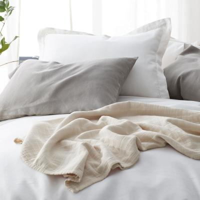 Solid Washed Linen Duvet Cover