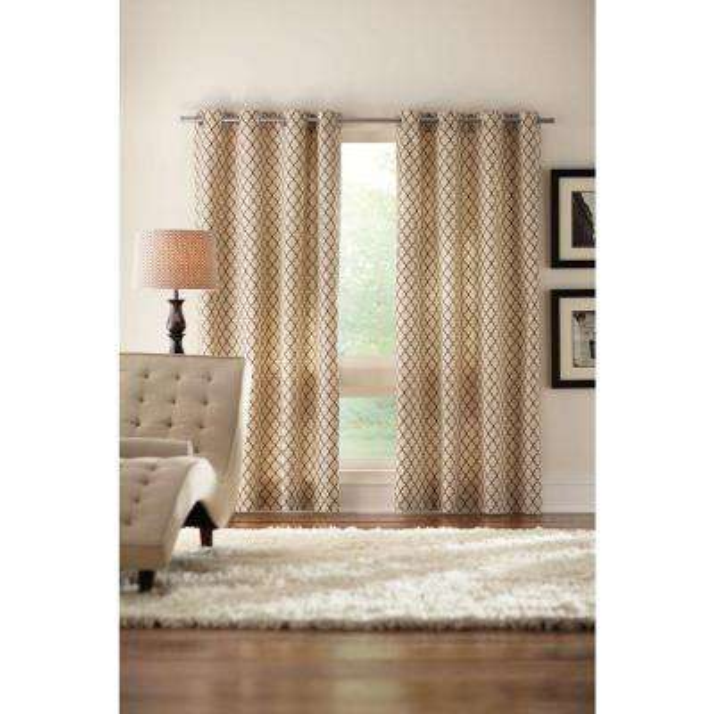 Ogee Grommet Curtain