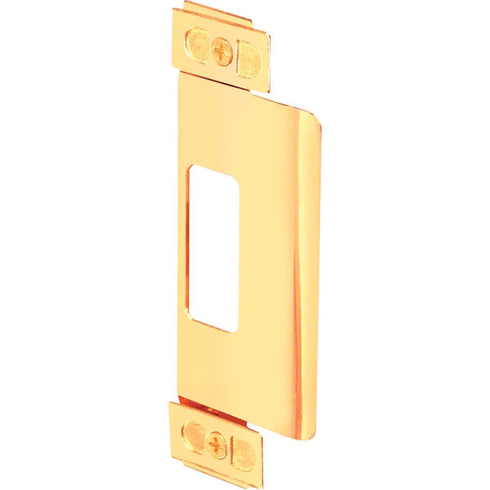 Brass Plated ASA Adjustable Door Strike