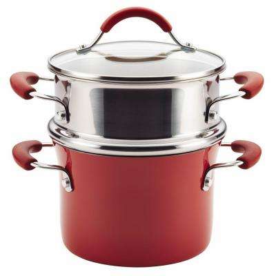 Cucina 3 Qt. Aluminum with Steamer