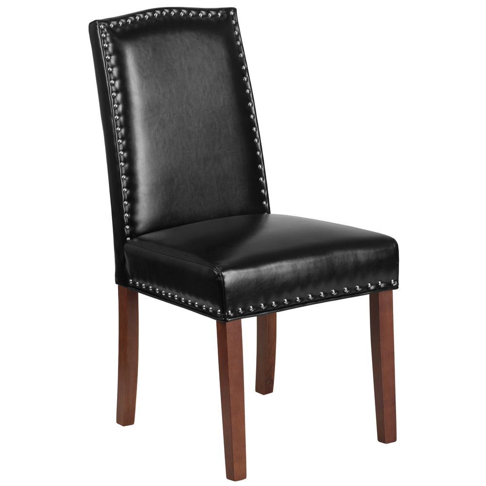 Flash Furniture Black Leather Office/Desk Chair CGA-QY-209653-BL-HD