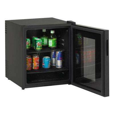 1.7 cu. ft. Deluxe Black Beverage Cooler