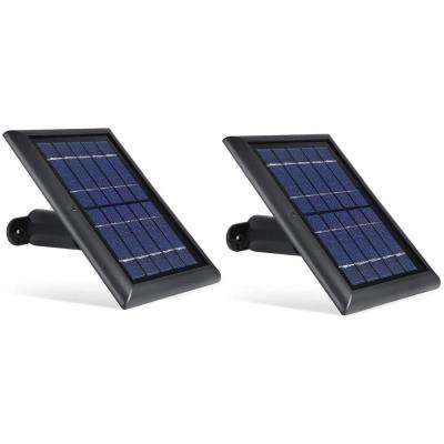 Solar Panel Compatible with Arlo Ultra, Arlo Pro 3 and Arlo Floodlight ONLY with 13.1ft Cable (2 Pack, Black)