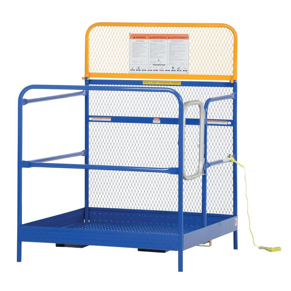 Vestil 48 in. x 48 in. Steel Work Platform