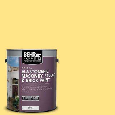 1 gal. #P300-5 Upbeat Elastomeric Masonry, Stucco and Brick Exterior Paint