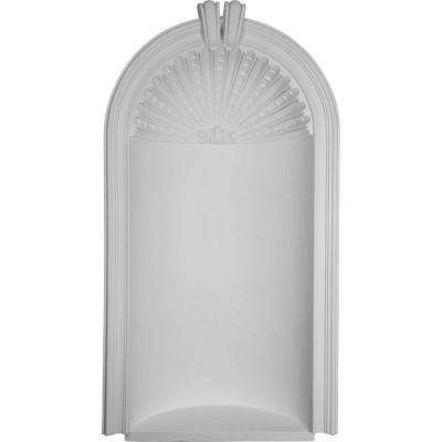 35-1/4 in. x 12-5/8 in. x 65-1/2 in. Primed Polyurethane Recessed Mount Berkshire Wall Niche