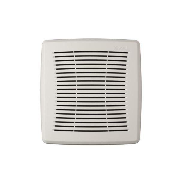 Easy Install Bathroom Ventilation Fan Replacement Grille in White