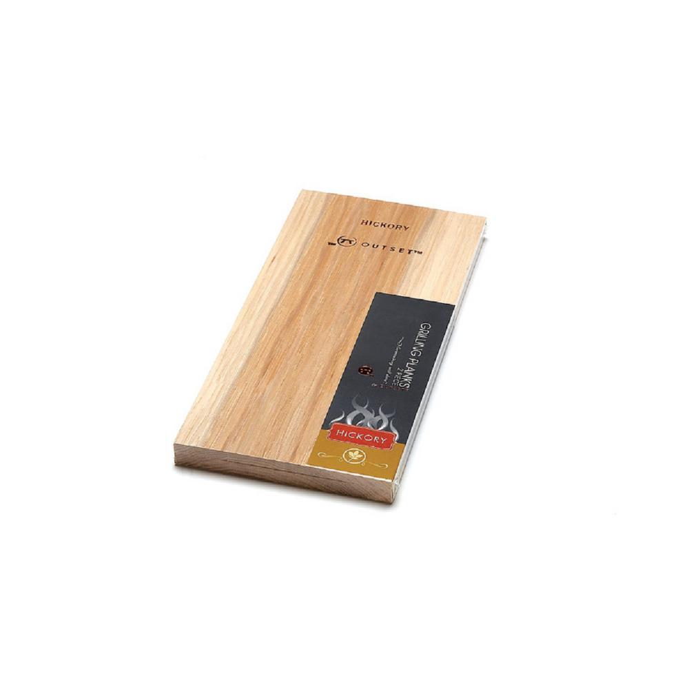 Hickory Planks (Set of 2)