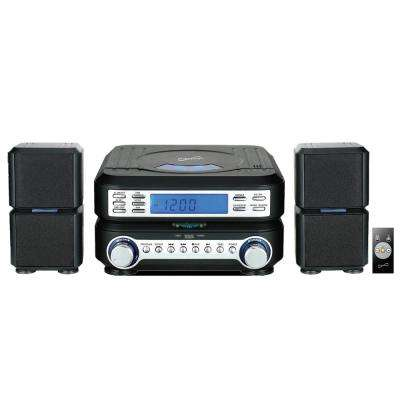 Portable Micro System with Bluetooth, CD Player, AUX Input & AM/FM Radio