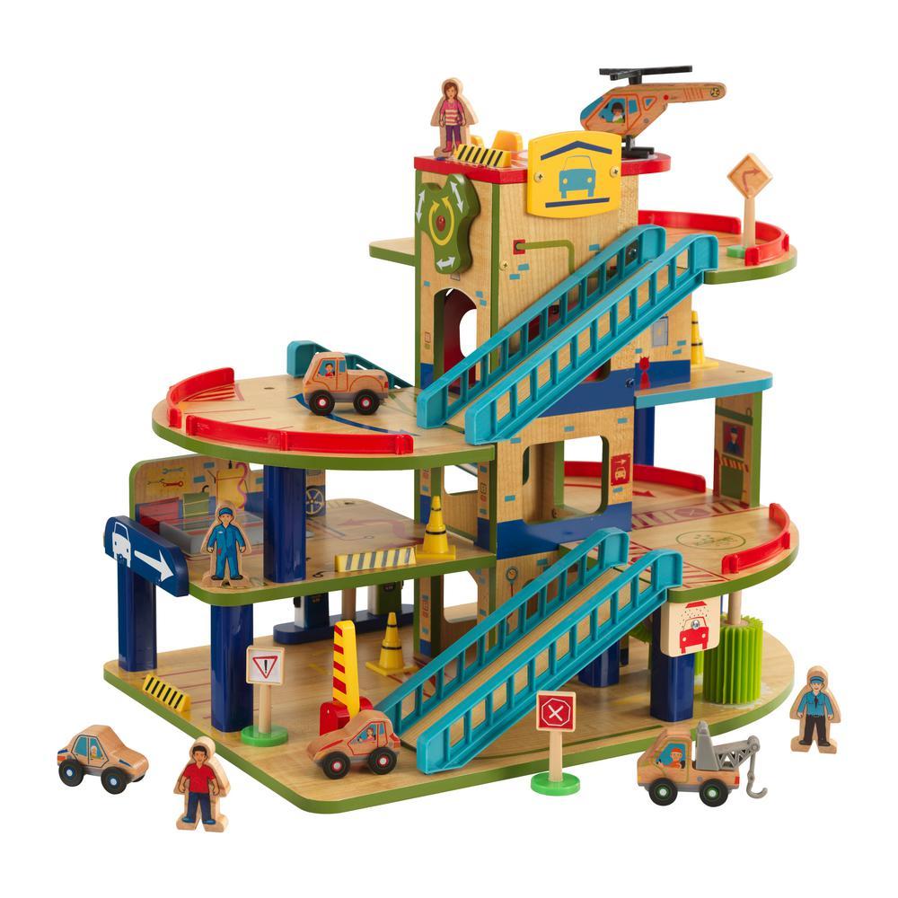 Kidkraft Push Along Play Cart Playset 63246 The Home Depot