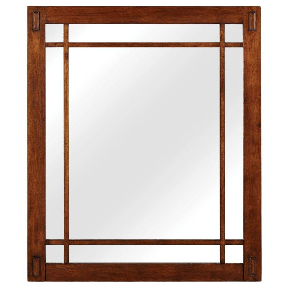 Artisan 26 in. W x 30 in. H Framed Single Wall