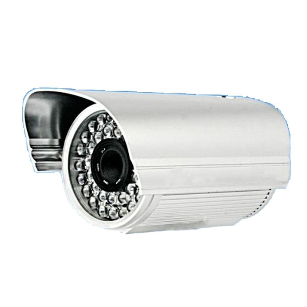 SeqCam Wired Weatherproof 420TVL Indoor/Outdoor Bullet Camera with 164 ft. Night