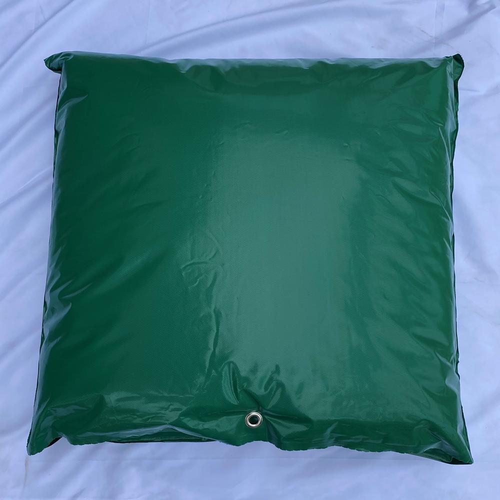 24 in. W x 24 in. H Small Fiberglass Encapsulated Green Plastic Insulation Pouch
