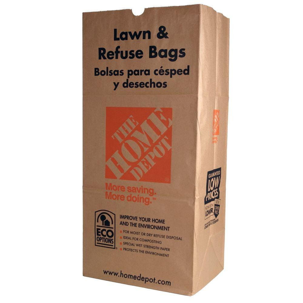 Paper Lawn And Refuse Bags 5 Count