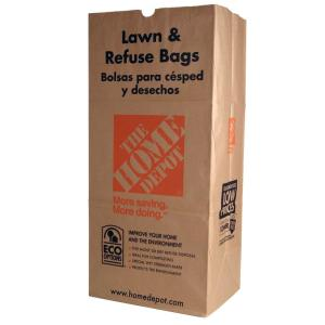 c1237f1f The Home Depot 30 gal. Paper Lawn and Refuse Bags (5-Count)-49022 ...