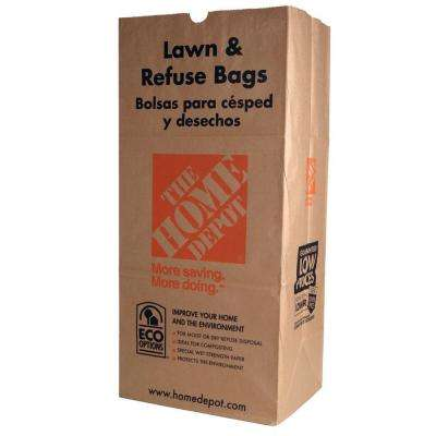 30 gal. Paper Lawn and Refuse Bags (5-Count)