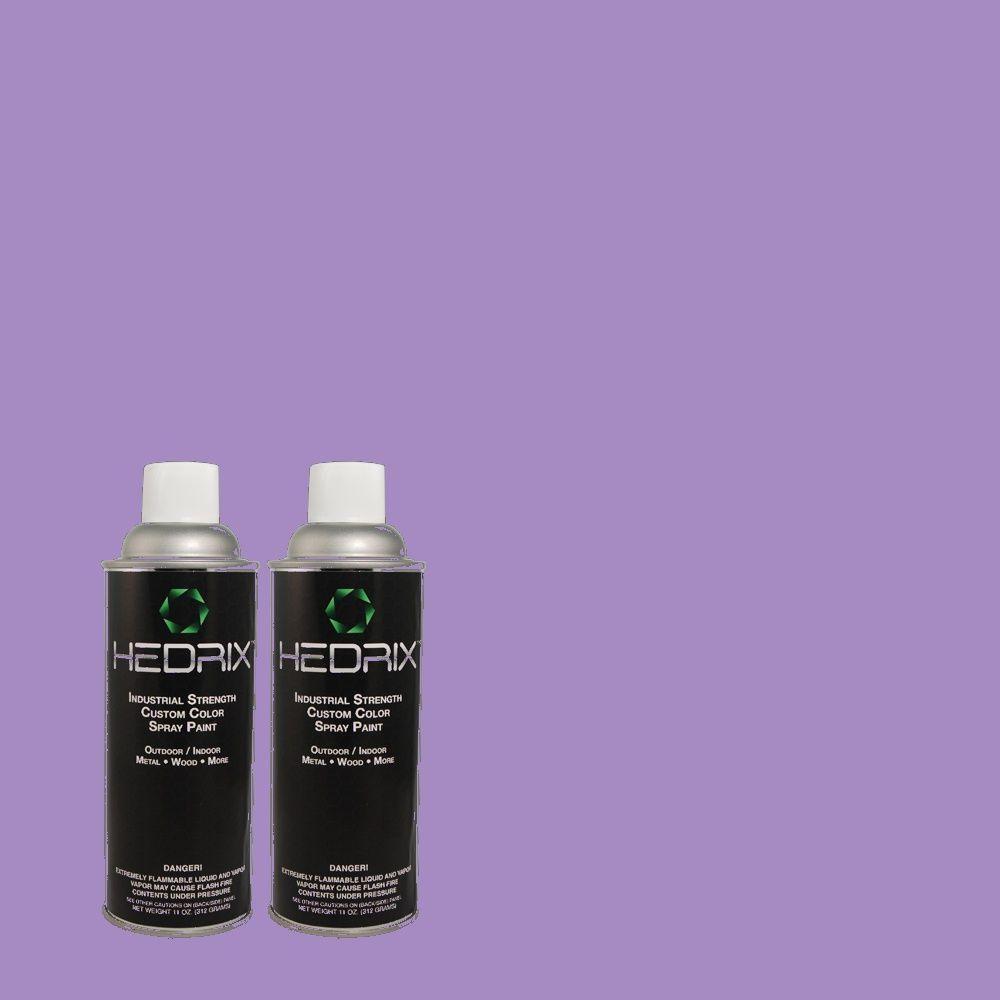 Hedrix 11 oz. Match of MQ4-29 Brocade Semi-Gloss Custom Spray Paint (8-Pack)