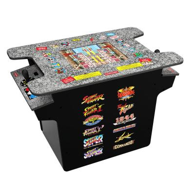 Deluxe 12-in-1 Head to Head Cocktail Table w/ Split Screen Street Fighter & More