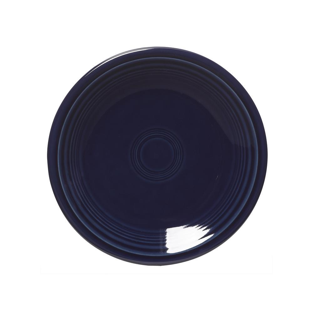 Fiesta Cobalt Blue Salad Plate 464105u The Home Depot