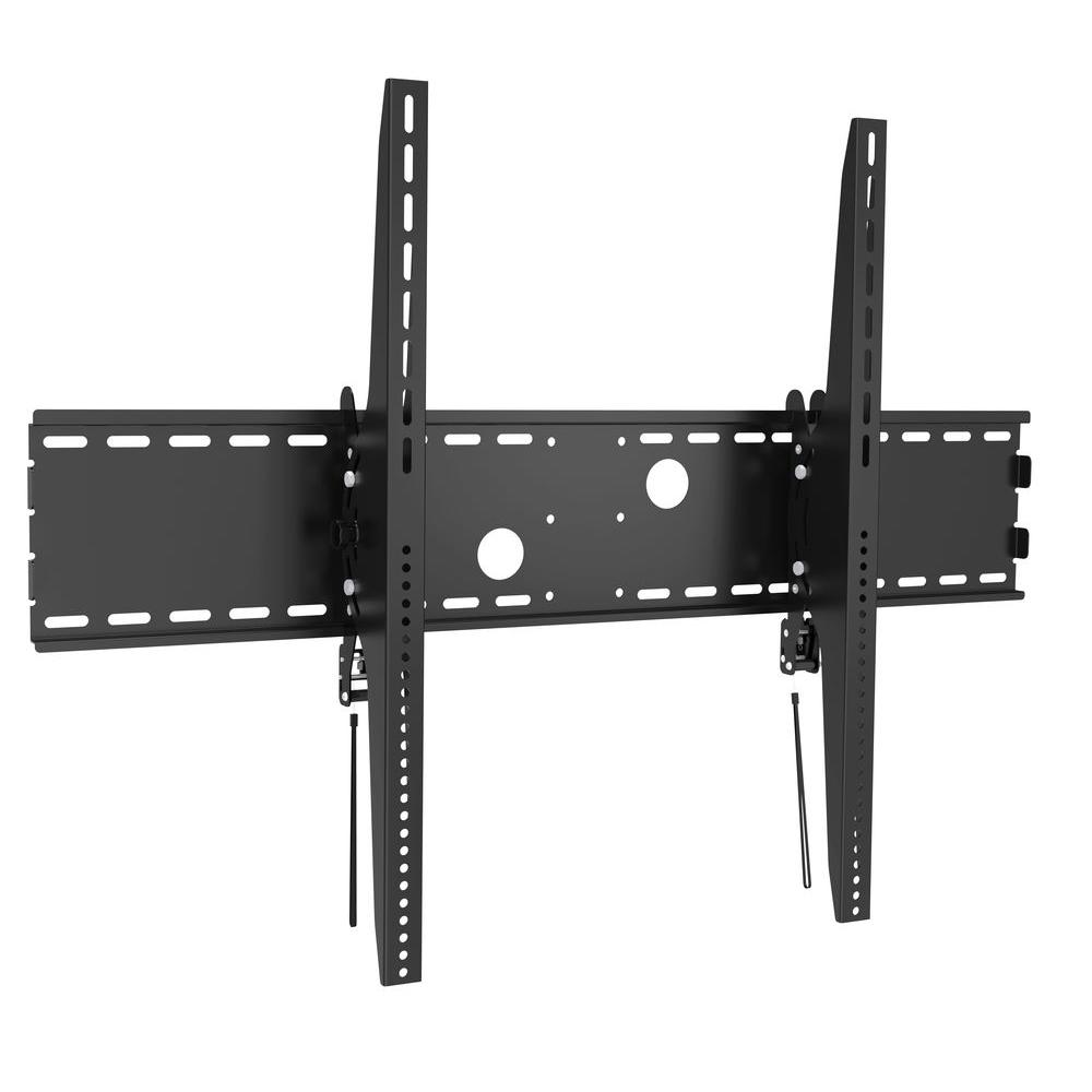 inland extra large tilting tv wall mount for 60 in 100 in curved or flat panel tv 39 s with 15. Black Bedroom Furniture Sets. Home Design Ideas