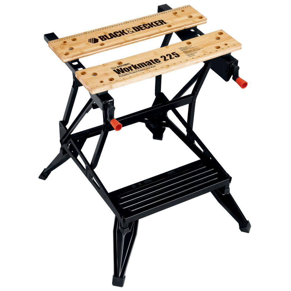 BLACK+DECKER Workmate 225 30 in. Folding Portable Workbench and Vise