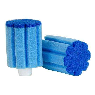 Glass Wand Sponge Refills (2-Pack)