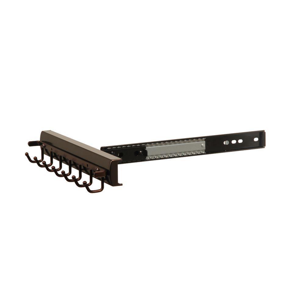 Premier 7-Hook Slide and Pivot Belt Rack