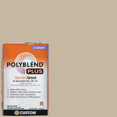 Polyblend Plus #172 Urban Putty 25 lb. Sanded Grout