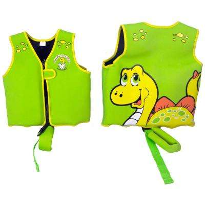 Dino Swimming Pool Float Vest 3-6 Years Old