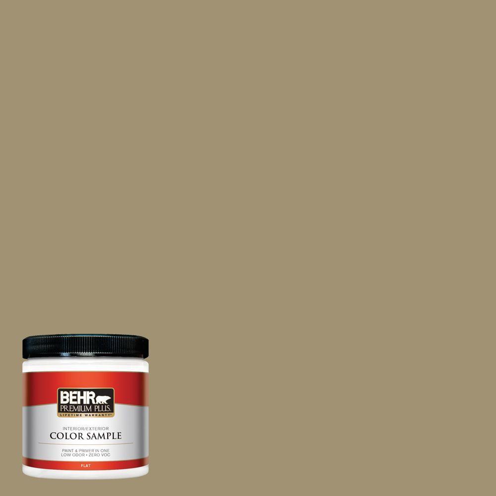 8 oz. #380F-6 River Bank Interior/Exterior Paint Sample