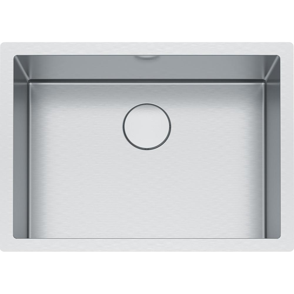 Franke Professional Undermount Stainless Steel 26.5625 in. x 19.5 in.  Single Bowl Kitchen Sink