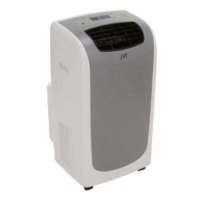 11,000 BTU Portable Air Conditioner, Dual-Hose System with Dehumidifier