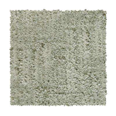 8 in. x 8 in. Pattern Carpet Sample - Corry Sound - Color Frosted Pane