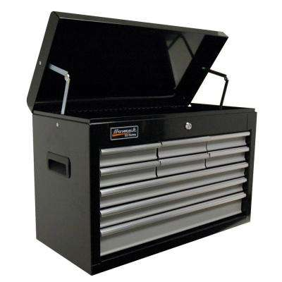 SE Series 27 in. 9 Drawer Tool Chest, Black and Gray