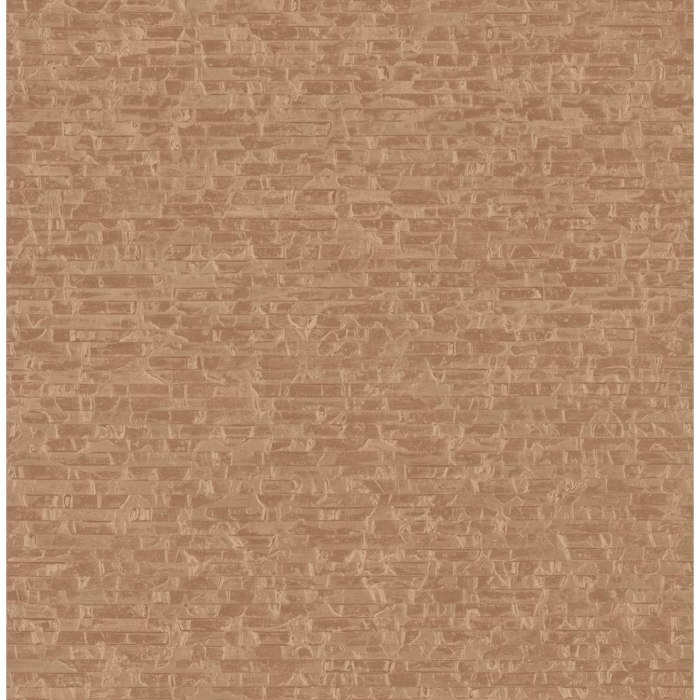 Fine Decor Xavier Red Bricks Wallpaper Sample