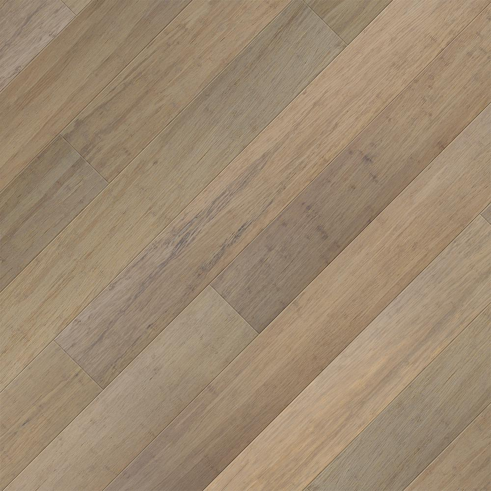 Home Legend Take Home Sample - Brushed Matt Strand Woven Canyon Click Lock SPC WR Bamboo Flooring - 5 in. x 7 in.