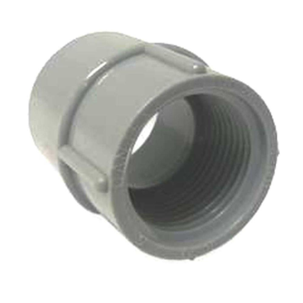 1 2 In Female Conduit Adapter R5140043 The Home Depot