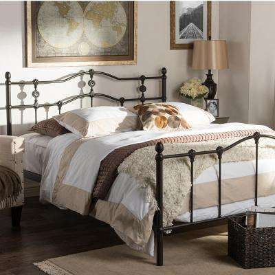 Wrought Iron Beds Headboards Bedroom Furniture The Home Depot