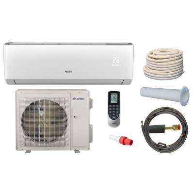 Vireo 36,000 BTU 3 Ton Ductless Mini Split Air Conditioner and Heat Pump Kit - 208-230V/60Hz